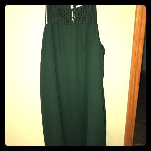 Maurices Dresses & Skirts - Dark green midi dress